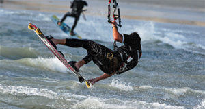 Kitesurf back school