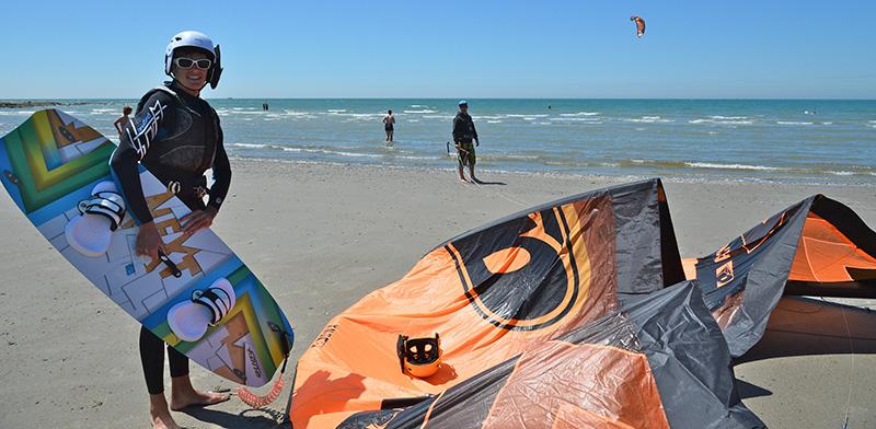 Matériel ecole kitesurf